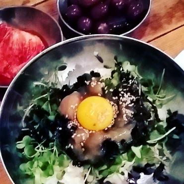 Korea_trip_fall_2016_food_bibimbap