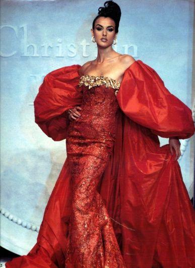 Dior par Gianfranco Ferré, 1992.