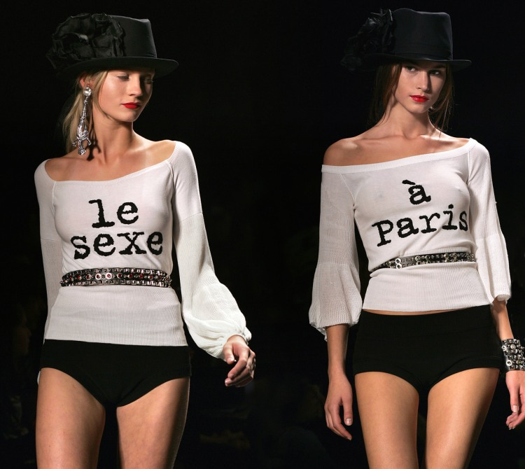 FASHION-RYKIEL-PARIS-READY TO WEAR-SPRING SUMMER 2006
